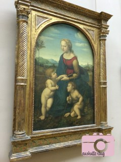 The Virgin and Child with Saint John the Baptist by Raphael