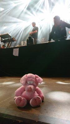 Soundcheck przed koncertem