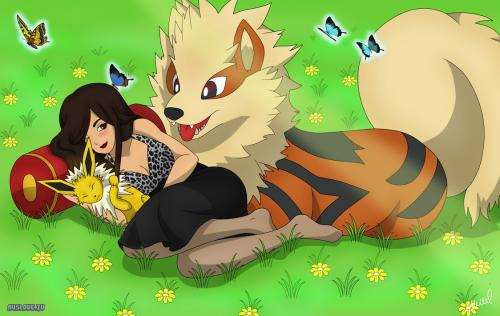 Arcanine - Twitch OmgYellow - AuSLove.TV