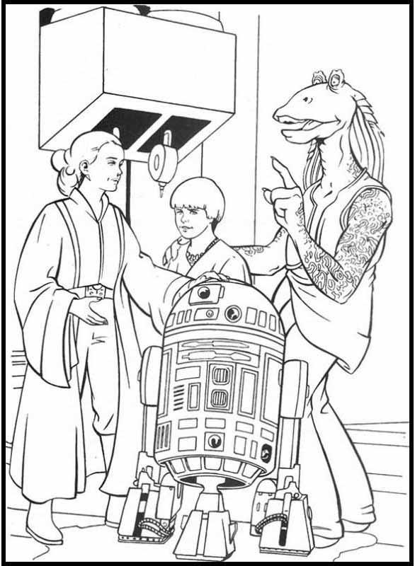 Ausmalbilder Star Wars 3 Ausmalbilder