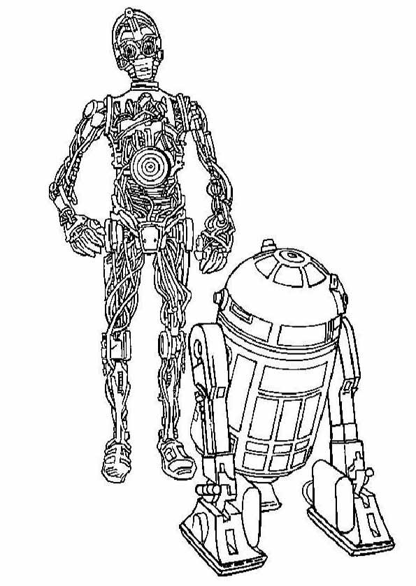 Ausmalbilder Star Wars 19 Ausmalbilder