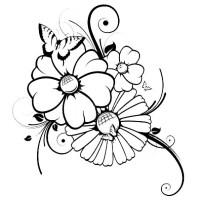 Ausmalbilder Schmetterling 9 | Ausmalbilder