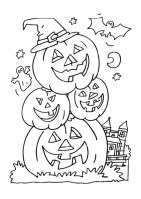 Halloween Malvorlagen Kürbis Kostenlos   Ausmalbilder