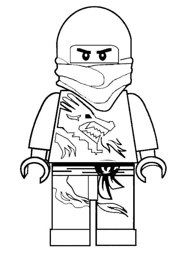 Ausmalbilder Ninjago 4 Ausmalbilder