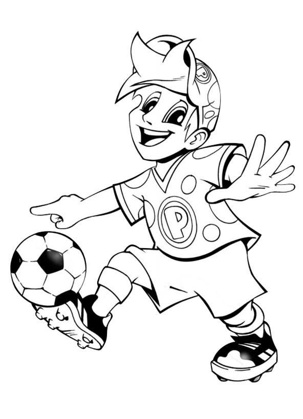 Malvorlagen Fussball Gratis