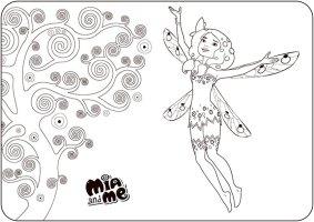 Ausmalbilder Mia and Me 12   Ausmalbilder
