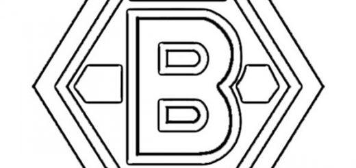 malvorlage logo borussia