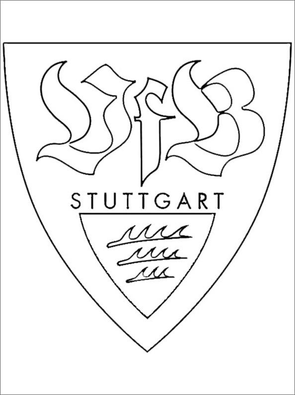 malvorlage vfb stuttgart coloring and
