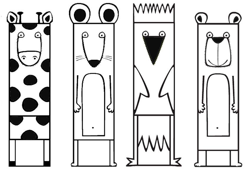 Super Lesezeichen Zum Ausdrucken Einhorn | Reindeer Origami Corner II15