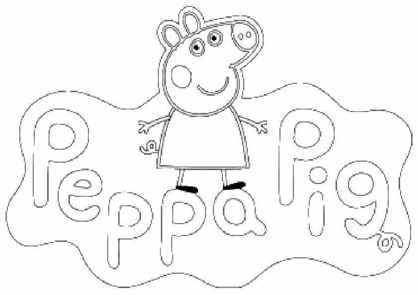 ausmalbilder peppa wutz ostern