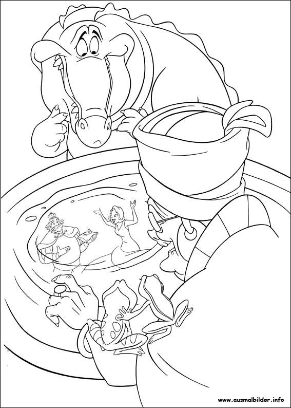 Küss den Frosch malvorlagen