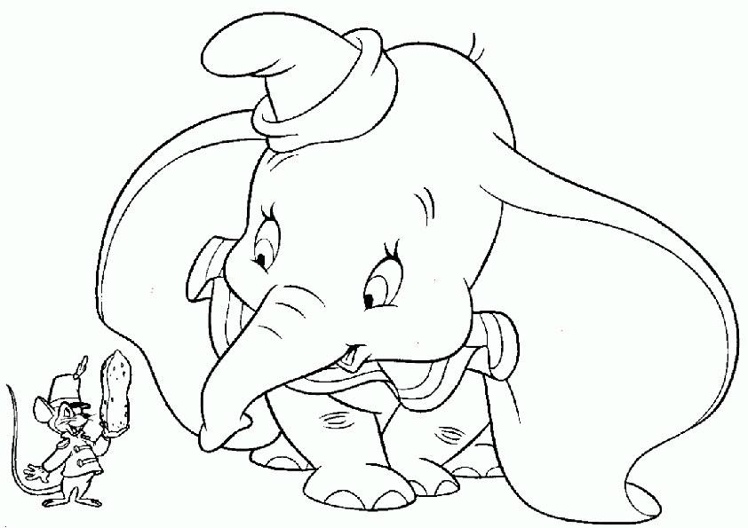 Ausmalbilder-Dumbo-11
