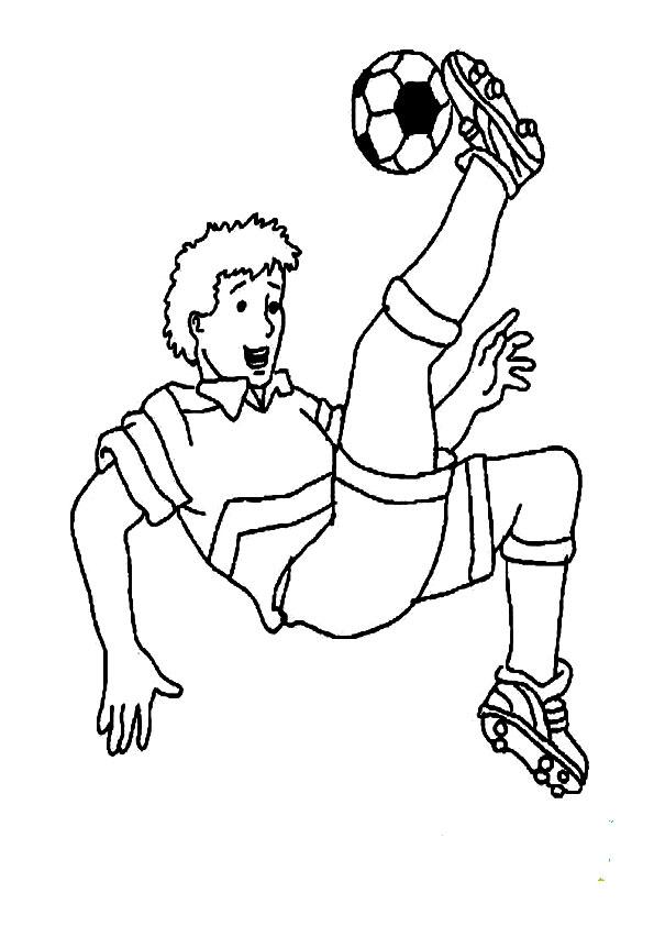 Ausmalbilder gratis fussball-7 Ausmalbilder gratis