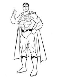 Ausmalbilder Zum Ausdrucken Superman Ausmalbilder Zum