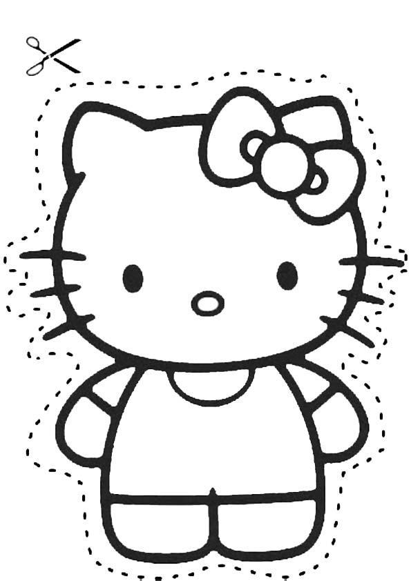 Ausmalbilder hello kitty-142 Ausmalbilder Hello Kitty