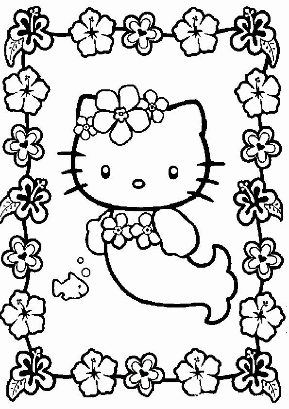 Malvorlagen Hello Kitty Meerjungfrau Batavusprorace