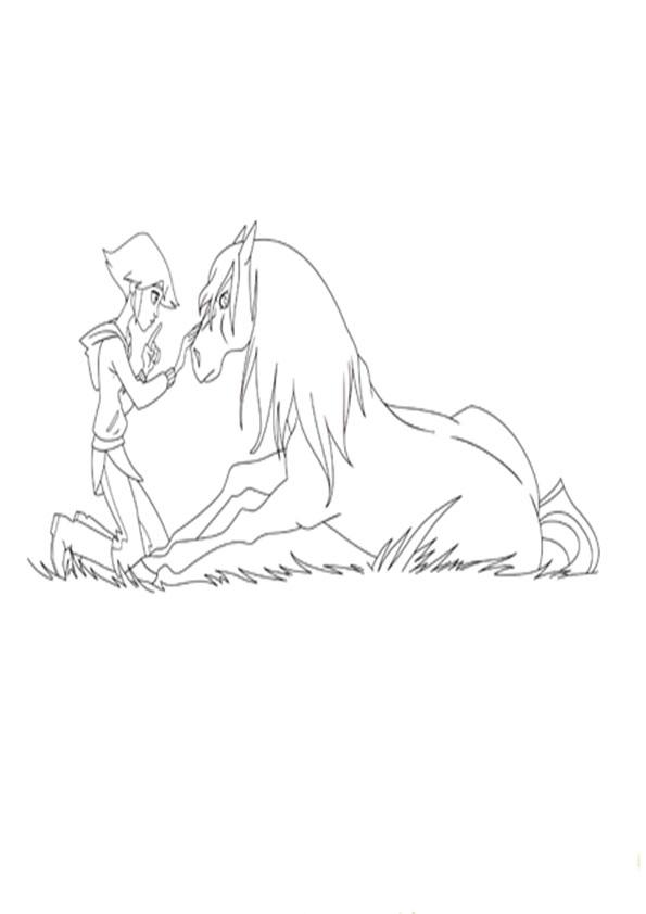Lenas ranch-6 Ausmalbilder für Kinder
