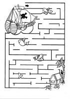 Labyrinthe Zum Ausdrucken Kinder   Labyrinth Vorlage ...
