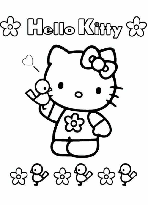 Ausmalbilder Kostenlos Hello Kitty 7 Ausmalbilder Kostenlos