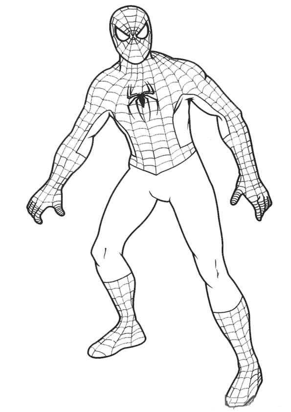 Ausmalbilder Kostenlos Spiderman 2 Ausmalbilder Kostenlos