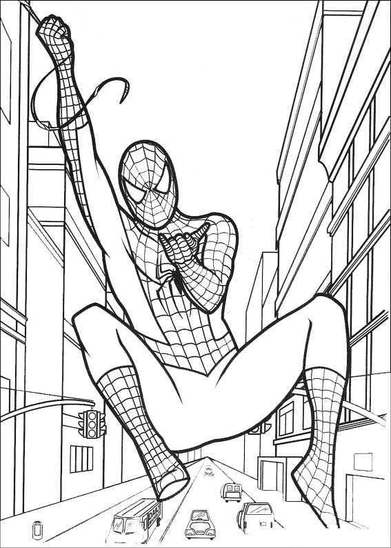 Ausmalbilder Kostenlos Spiderman 4 Ausmalbilder Kostenlos