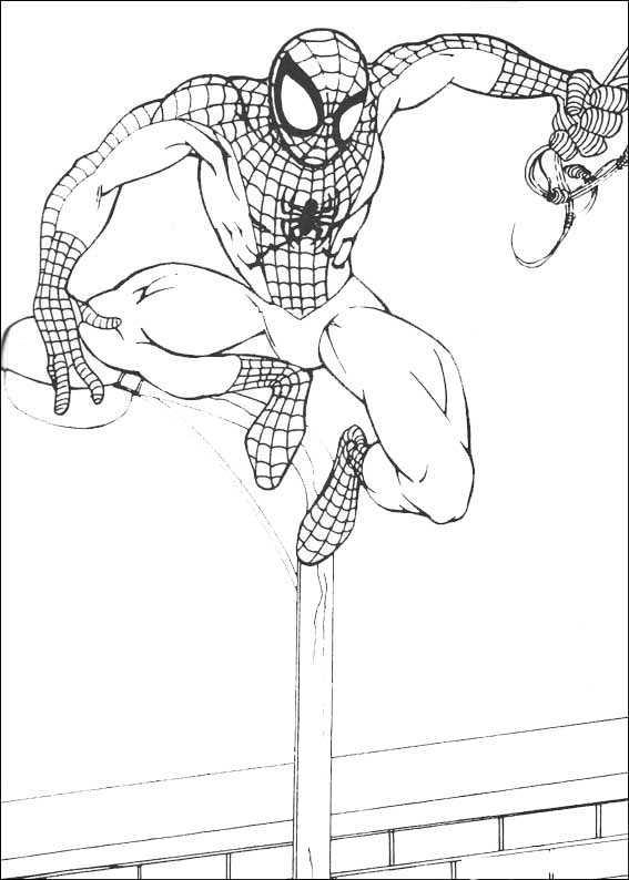 Ausmalbilder Kostenlos Spiderman 9 Ausmalbilder Kostenlos