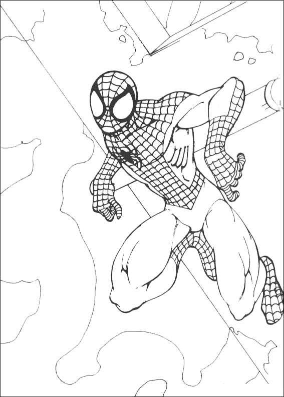 Ausmalbilder Kostenlos Spiderman 10 Ausmalbilder Kostenlos