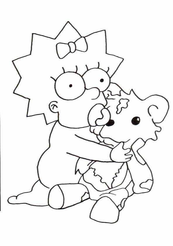 Ausmalbilder Kostenlos Die Simpsons 11 Ausmalbilder