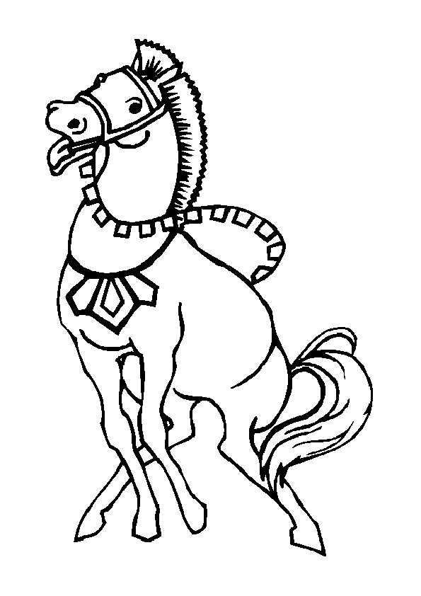 Ausmalbilder Kostenlos Pferde 4 Ausmalbilder Kostenlos