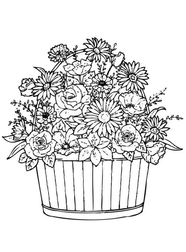 Ausmalbilder Blumen 3 Ausmalbilder Kostenlos