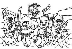 Ausmalbilder kostenlos Ninjago 12   Ausmalbilder Kostenlos