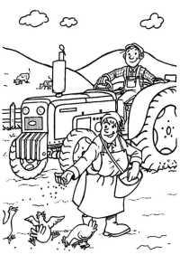 Malvorlagen Traktor Mit Anhänger Traktor Anhnger Clipart