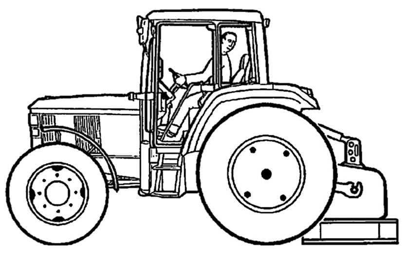 Ausmalbilder Traktor John Deere Auto Electrical Wiring Diagram