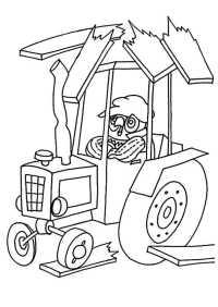 ausmalbilder kostenlos traktor