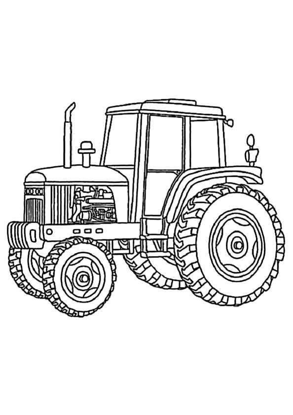 Ausmalbilder Kostenlos Traktor 13 Ausmalbilder Kostenlos