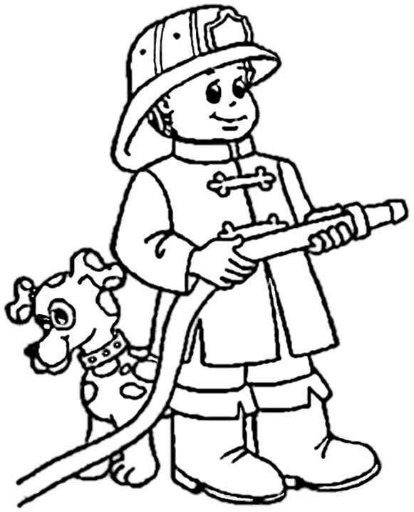 Ausmalbilder kostenlos Feuerwehr 1 Ausmalbilder Kostenlos