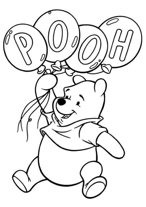 Ausmalbilder Kostenlos Winnie Pooh Baby 10 Ausmalbilder