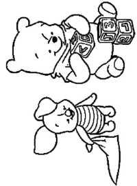 winni pooh malvorlagen - malbild