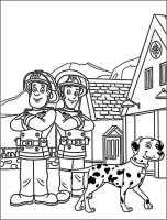 Ausmalbilder kostenlos Feuerwehrmann Sam 10   Ausmalbilder ...