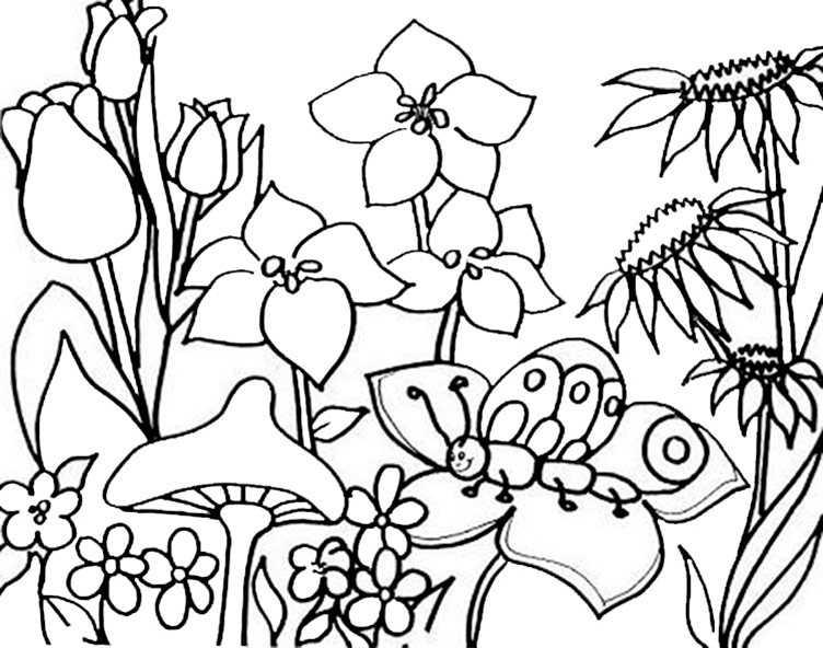 Ausmalbilder kostenlos Frühling 7 Ausmalbilder Kostenlos