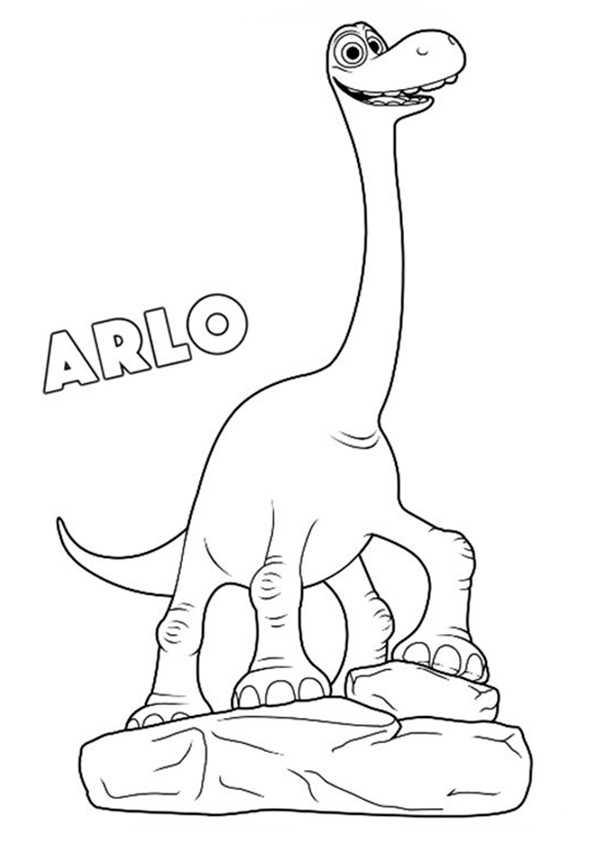 Der Gute Dinosaurier 1 Ausmalbilder Kostenlos