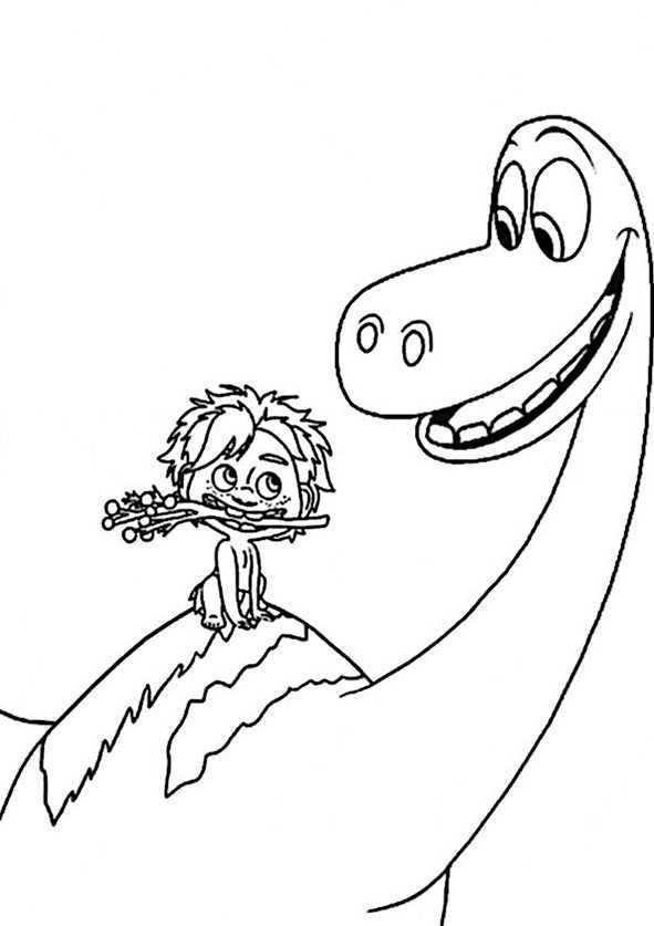 Der Gute Dinosaurier 9 Ausmalbilder Kostenlos