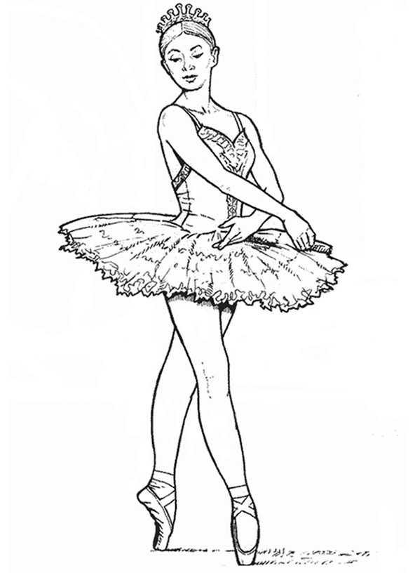 Ballerina 11 Ausmalbilder Kostenlos