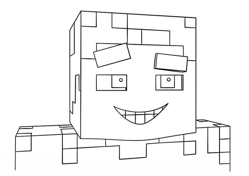 Minecraft 19 Ausmalbilder Kostenlos