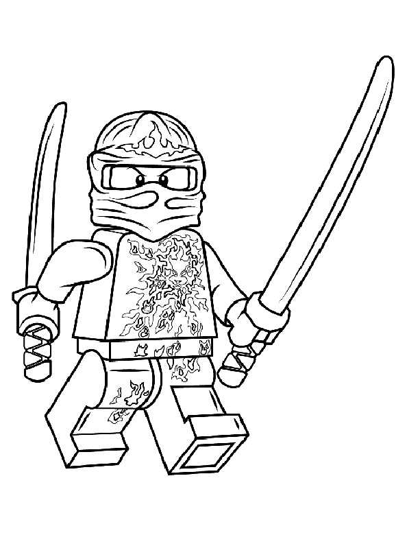 Lego Ninjago Kleurplaat Lloyd Lego Ninjago Ausmalbilder