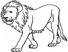 Löwe 16   Ausmalbilder Kostenlos