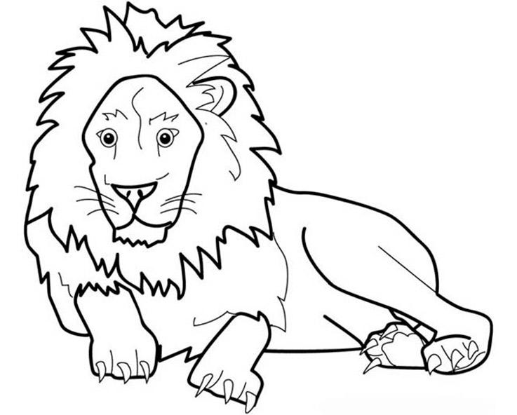 Löwe 21 Ausmalbilder Kostenlos