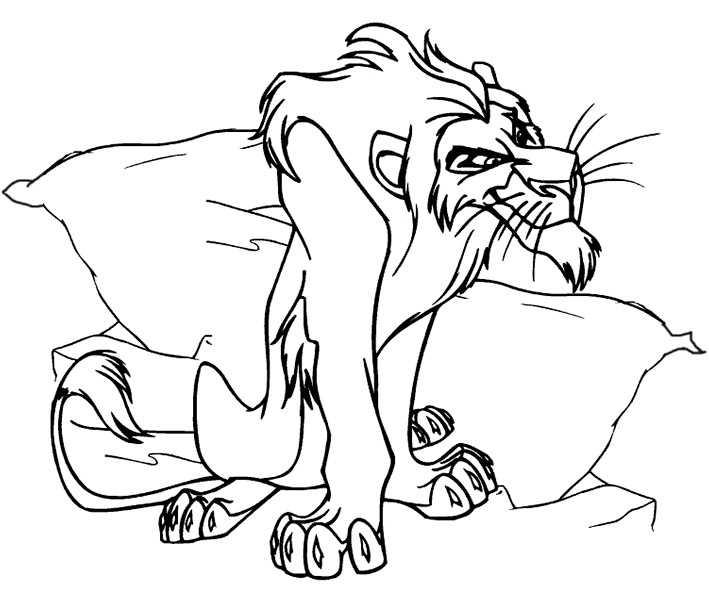 Löwe 26 Ausmalbilder Kostenlos