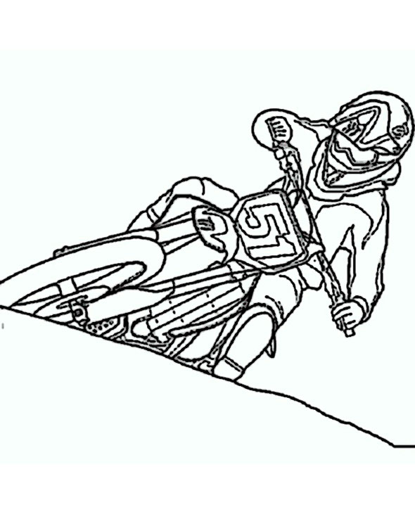 motorrad (3)  ausmalbilder top
