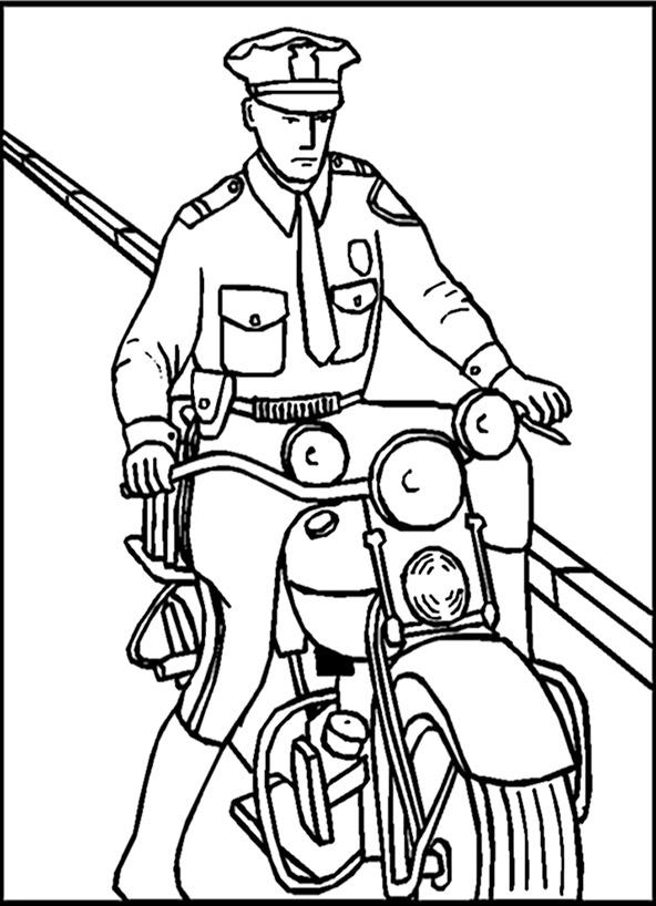 Ausmalbilder Polizei Ausdrucken Ausmalbilder